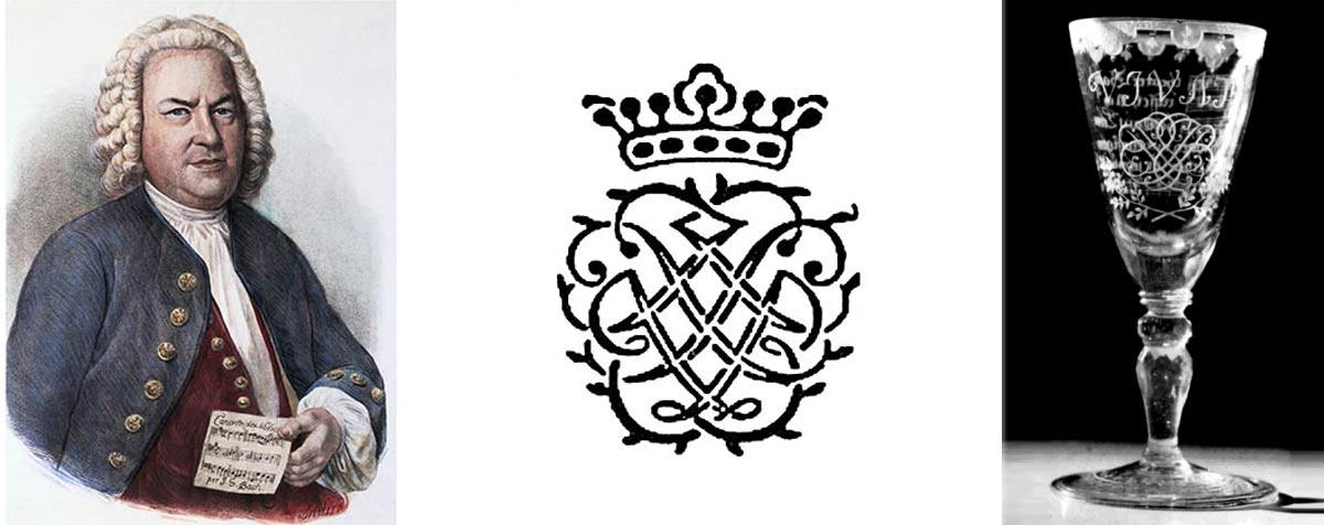 Личная печать Баха. Вензеля и монограммы