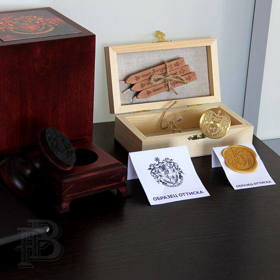 Изготовление штампов, визиток и полиграфии с символом