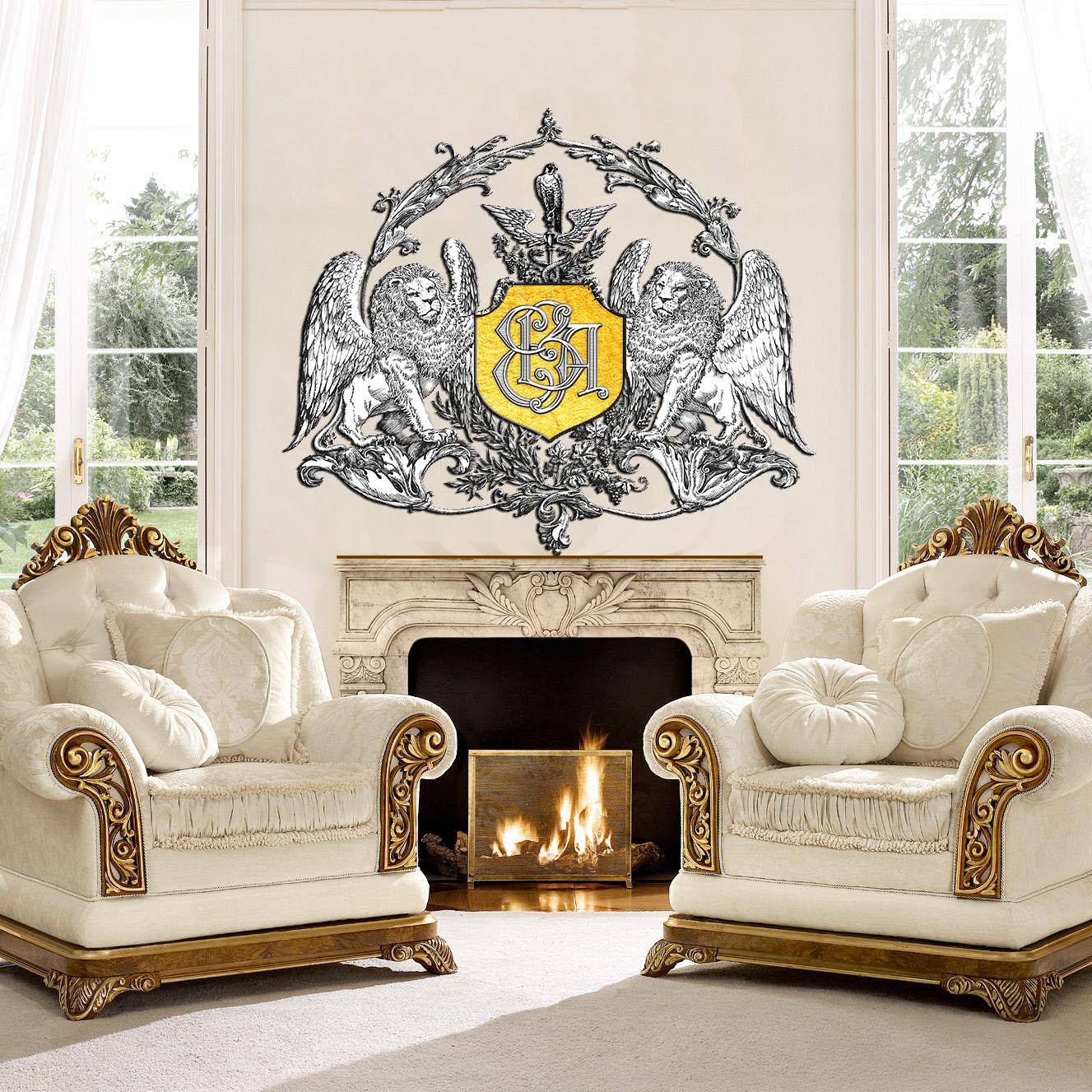 Персональный символ в дизайне интерьера, экстерьера и ландшафта