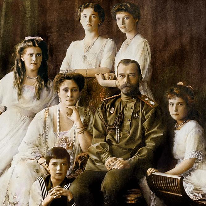 Монограмма четырех царских дочерей