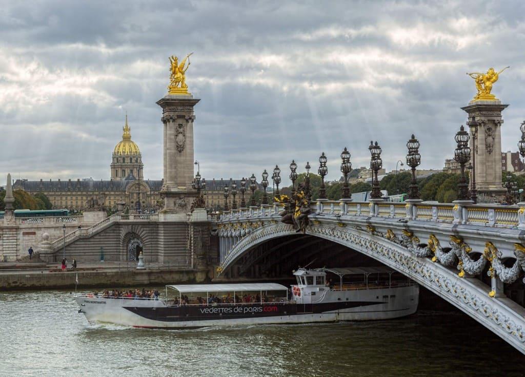 Геральдика, монограмма, парижский мост