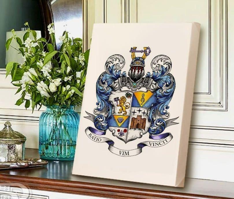 восстановление дворянства, герб дворянского рода, геральдическая мастерская