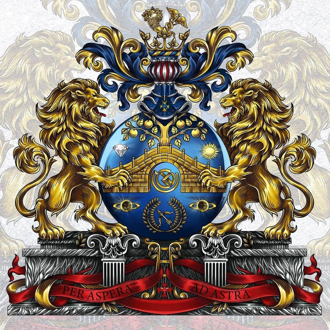 корпоративный герб, герб для торговой марки