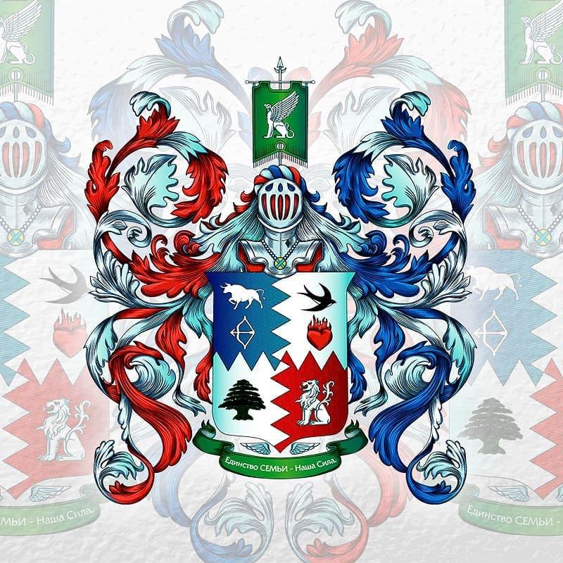 Превью – Символы семьи в геральдике, составление фамильного герба