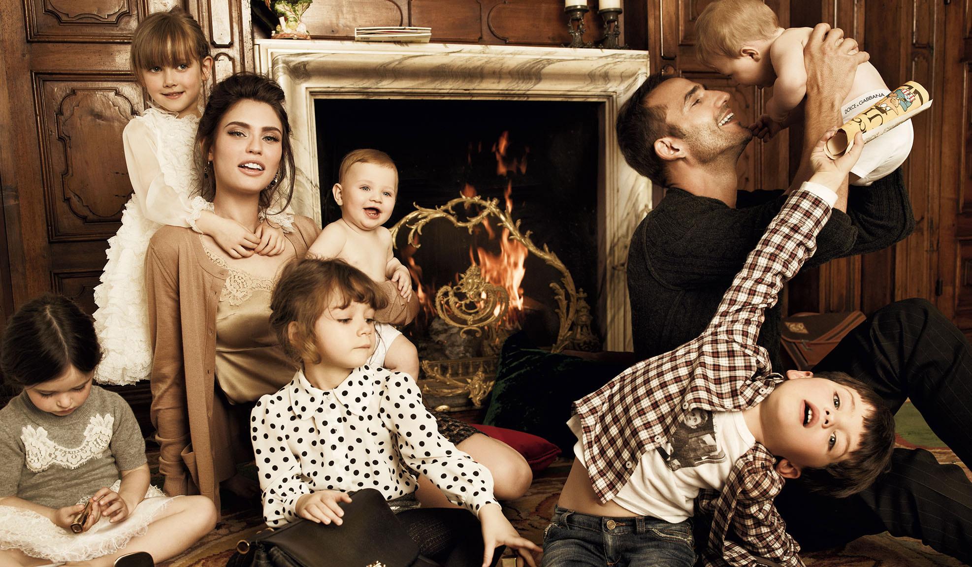 богатая семья в сборе